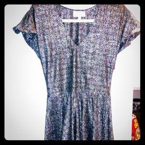 Alexis Silver/Black Dress
